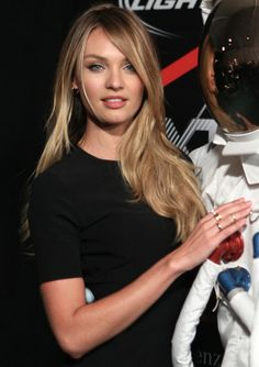 I want Candice Swanepoel's hair