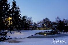 Church Road Park, Grand Falls-Windsor, NL at Dusk 004