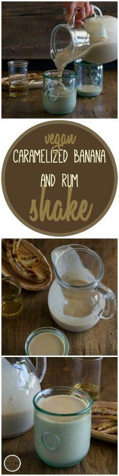 Dairy-free Caramelized Banana & Rum Shake by An Unrefined Vegan. (scheduled via http://www.tailwindapp.com?utm_source=pinterest&utm_medium=twpin&utm_content=post18479020&utm_campaign=scheduler_attribution)