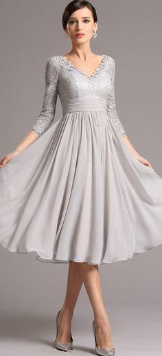 white tea length halter dresses