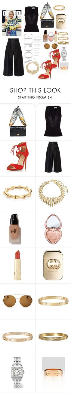 """""""keepin it real."""" by comerttaylan ❤ liked on Polyvore featuring Hermès, Balenciaga, Dorothy Perkins, Martin Grant, Gucci, Amrita Singh, e.l.f., Too Faced Cosmetics, Givenchy and Cartier"""