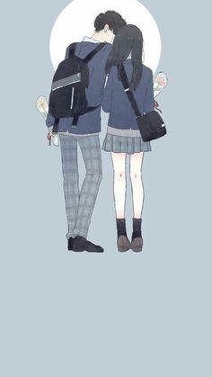 Cung Cấp Stock Cho Edit Photos Sưu tầm ảnh - Photo Editing - Edit photos with online editing tools - Cung Cấp Stock Cho Edit Photos Sưu tầm ảnh Wattpad Couple Anime Manga, Anime Cupples, Anime Love Couple, Cute Anime Couples, Cute Couple Drawings, Cute Couple Art, Anime Couples Drawings, Cute Drawings, Cartoon Kunst