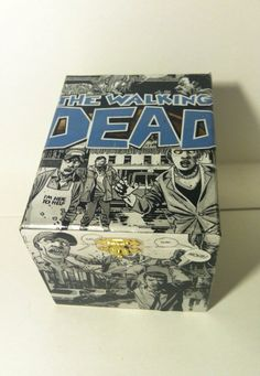 The Walking Dead Comic Book Collage Cigar Box by PaperVsGlue, $23.99