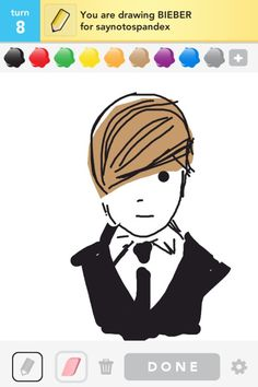 Can someone please teach me how to draw this well on Draw Something????