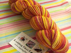 Phat Fiber Sample Box: LadyBug Fiber Company Sock Yarn giveaway!