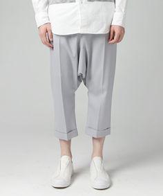 GANRYU Men's(ガンリュウ メンズ)のパンツ(パンツ)|グレー
