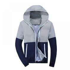 Cheap men windbreaker, Buy Quality jacket male directly from China casual jacket Suppliers: Jacket Men Windbreaker 2018 Spring Autumn Fashion Jacket Men's Hooded Casual Jackets Male Coat Thin Men Coat Outwear Couple Fashion Casual, Men Casual, Casual Tops, Mens Fashion, Fashion Boots, Fashion Trends, Designer Jackets For Men, Jacket Style, Jacket Men