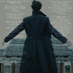 "BBC ""Sherlock"" - quote from each episode - ""The Abominable Bride"" quote is missing, I'm sorry - original picture by Presley - presley4387"