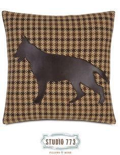 German Shepherd Gait Studio 773 Decorative Pillow.