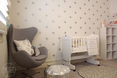 Project Nursery - Star Accent Wall