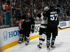 Sharks vs Kings - Round 1, Game 2 - 04/21/2014 - San Jose Sharks - Photos