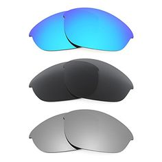 78a8f5d071 Revant Replacement Lenses for Oakley Half Jacket 3 Pair Combo Pack K015     You can