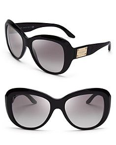 Versace Pop Chic Couture Oversized Sunglasses Versace Eyewear 78dbbb6ef5