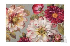 (Original as re-pinned)  Classically Beautiful I Giclee Print by Lisa Audit at Art.com