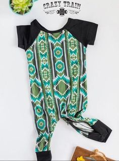 Crazy Train has done it again with this adorable Cow Catcher Playdate Baby Aztec Romper for your precious cowkid. Super soft and stretchy jumper! The zipper is the best part! Material: Polyester and Spandex. Cow Catcher, Aztec Clothing, Crazy Train Clothing, Native American Baby, Jumper, Kids, Spandex, Clothes, Women