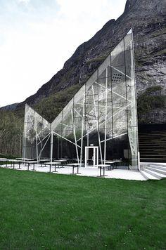 architecture norway | Trollveggen Visitors' Centre, Rauma