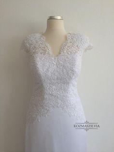 weddingdress  bridaldress  lace  wedding  menyasszonyiruha  esküvőiruha   esküvő  kozmaszilvia 361fdc3c37
