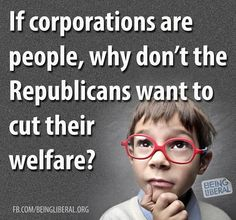 """Funny how corporations get all the advantage of being """"people"""" and NONE of the…"""