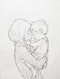 Hope y Albus Severus