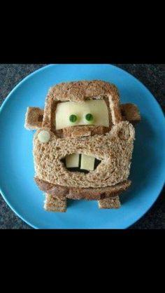 Car cheese sandwich