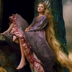 Taylor as Rapunzel