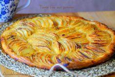 Tarte fine aux pommes facile et rapide