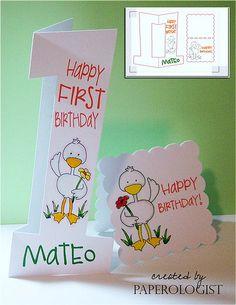Birthday Card AiFactory Duck
