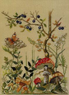 Embroidery Patterns, Hand Embroidery, Cross Stitch Patterns, Stitch 2, Japanese Prints, Cross Stitch Flowers, Cross Stitching, Needlepoint, Needlework