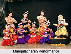 Mangalachran is that part of Odissi with which the dance begins and it contributes to the invocatory part of Odissi. For more visit the page. #dance #folkart #indiandance