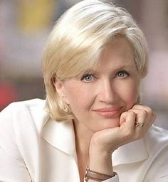 Diane Sawyer; not just for her news stories but for the lady she is.