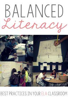 Balanced Literacy: B