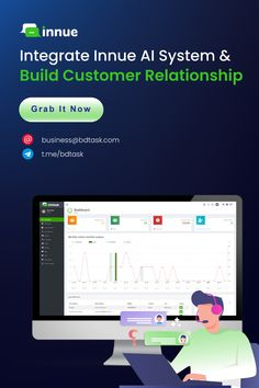 Innue is a digital live chat software. It helps the business owner to maintain a strong relationship with the customer. But how? The AI system of Innue automatically responses your customers' queries promptly. Integrate the modern live chatbot and be ready to support 24/7 continuously. #Innue #AISystem #FacebookChatbot #liveChatSoftwareForWebsite