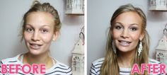 Beauty   Make Up   Before and After   Make Up Products   Anna Saccone: How I Do My Makeup!