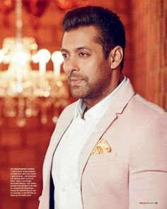 Salman Khan #photoshoot for Hello magazine. #Bollywood #Fashion #Style #Handsome