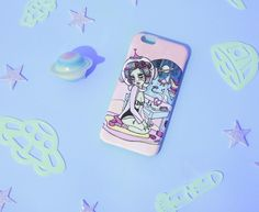 Space Babe iPhone Case valfre.com