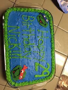 Ninja Turtle cake! #TMNT