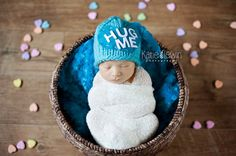 Conversation Heart Hat Valentine's Day Prop LOVE THIS FOR ALL BABIES BORN AROUND LOVE DAY!!
