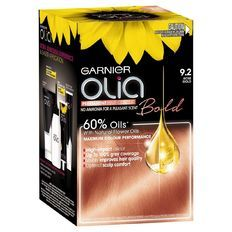 Garnier Olia Rose Gold 9 2 Permanent Hair Color Olia Hair Color