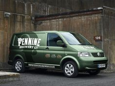 Pennine Brewery vehicle graphics designed by Robin Zahler. Van Signage, Vehicle Signage, Commercial Van, Eco Friendly Cars, Van Design, Small Trucks, Van Wrap, Cool Vans, Lifted Ford Trucks