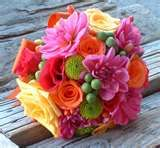 colourful wedding flowers - Bing Images