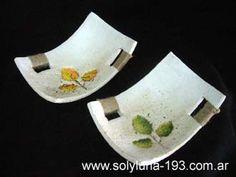 Cuencos y Bandejas Polymer Clay Crafts, Diy Clay, Ceramic Clay, Ceramic Plates, Slab Pottery, Ceramic Pottery, Pottery Handbuilding, Biscuit, Art N Craft