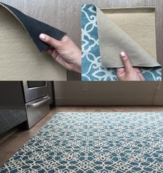 Washable Area Rug From Ruggable — a line of machine-washable area rugs