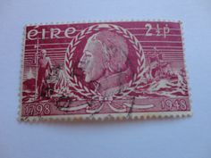 1798-1948 2 1/2P Old Eire Postage Stamp.