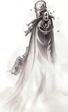 Fantomex by Chris Bachalo