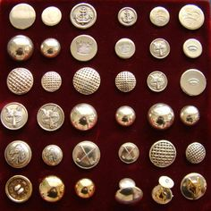 I bottoni serie Golf and Sea di Gianni Cacciatori