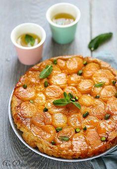 Tarte tatin aux abricots facile