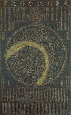 14th Century Star Map.