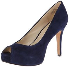 Nine West Women's Camya Suede Platform Pump,Navy,9.5 M US Nine West http://www.amazon.com/dp/B00KMXWK7G/ref=cm_sw_r_pi_dp_ExqOwb0481HN3