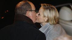 Charlène und Albert - Januar 2015