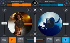 Add some colour with Cross DJ 2.3 for Android - http://djworx.com/add-colour-cross-dj-2-3-android/
